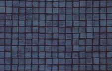 Dark Blue Mosaic Tile