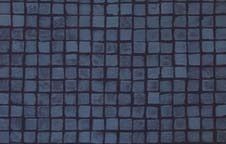 Dark Blue Mosaic Tile